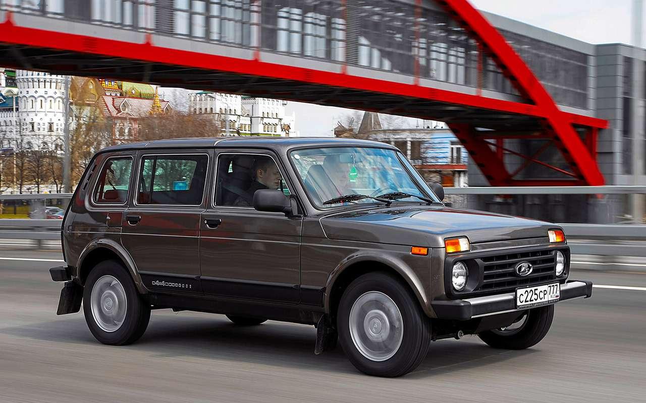Lada 4x4: лучшее, что сней произошло за42года— фото 961006