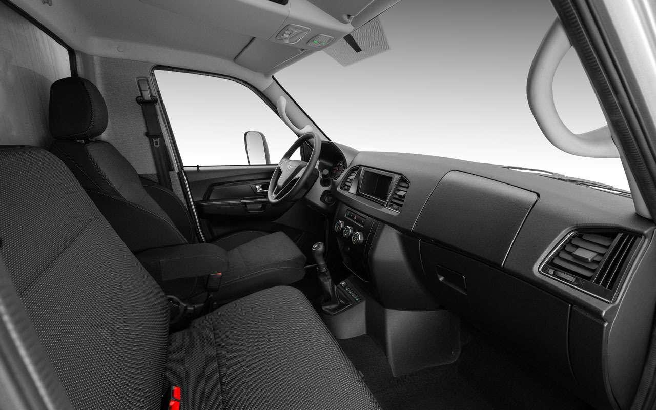 Новый УАЗ Профи— все особенности— фото 1229915