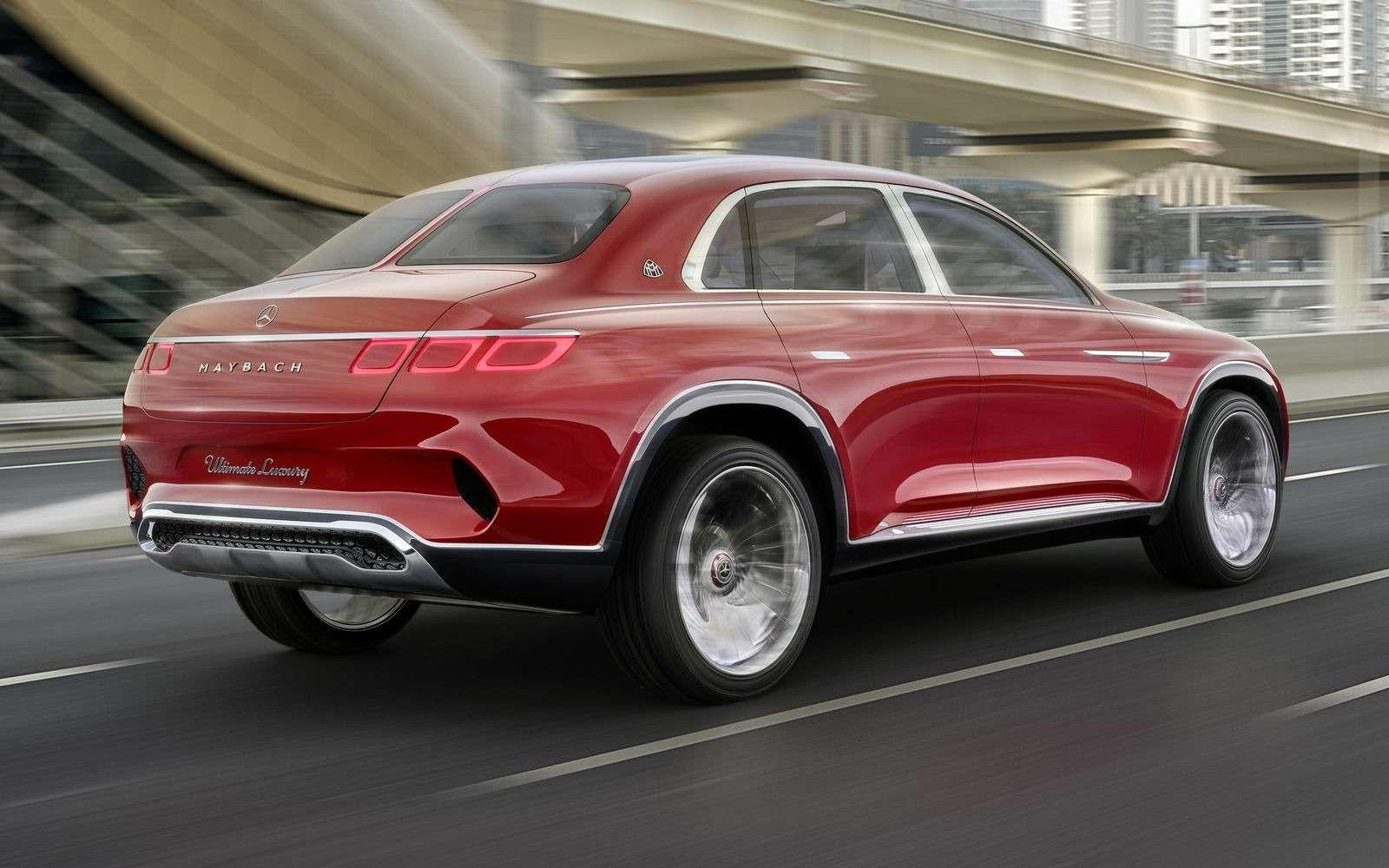Кросс-седан Mercedes-Maybach Ultimate Luxury: золото, чайник, электричество— фото 865369
