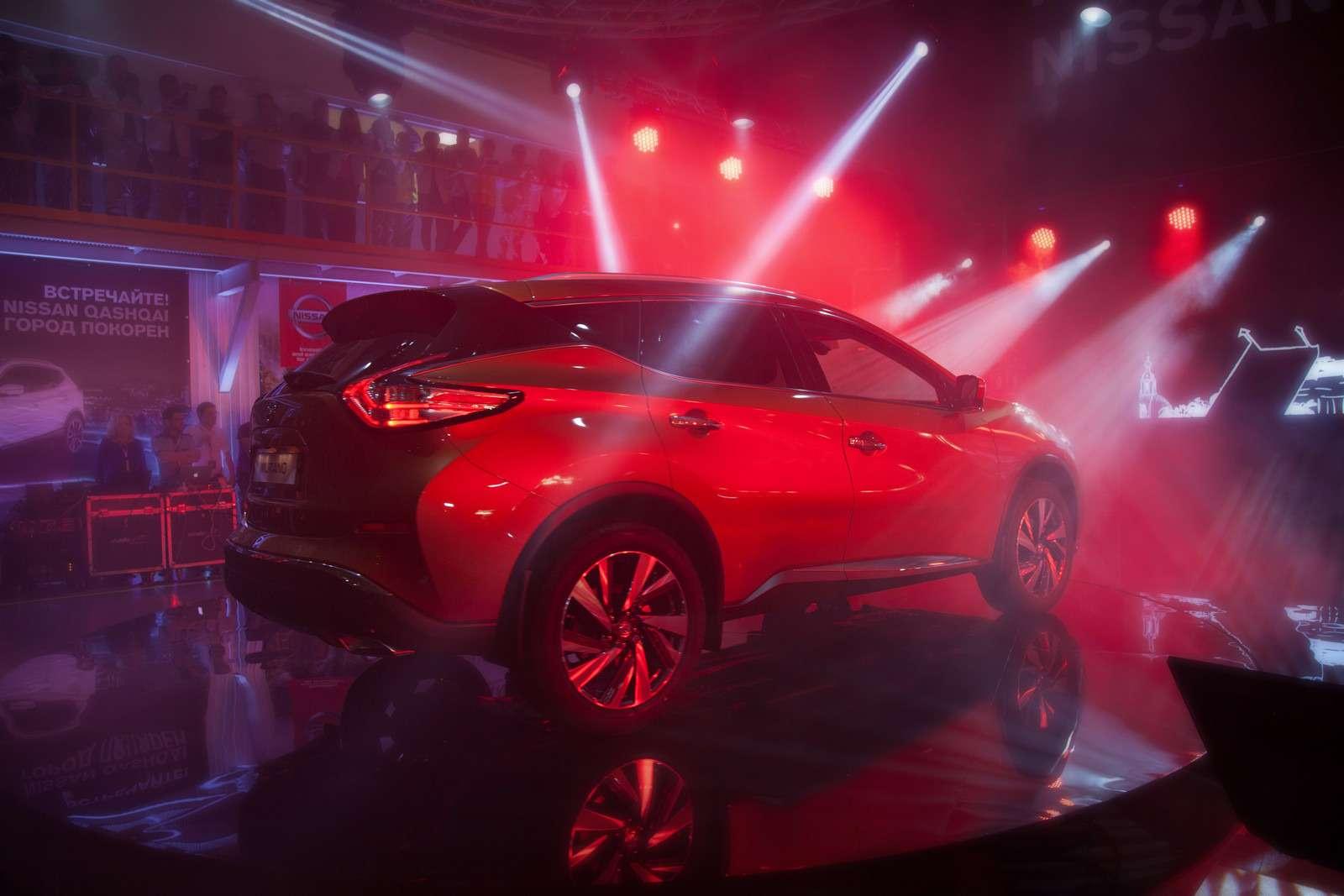 Новый Nissan Murano начали собирать вРоссии— фото 600806