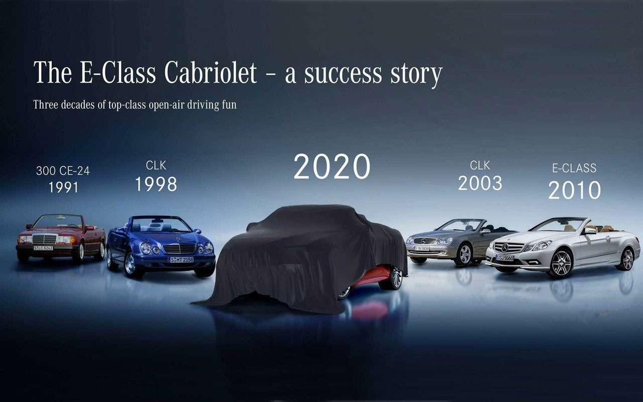 Двеновинки Mercedes-Benz: первые фото— фото 1125033