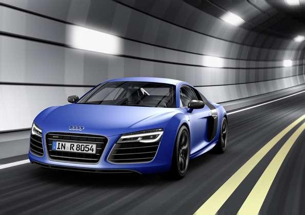 Audi R8V10 plus/Fahraufnahme