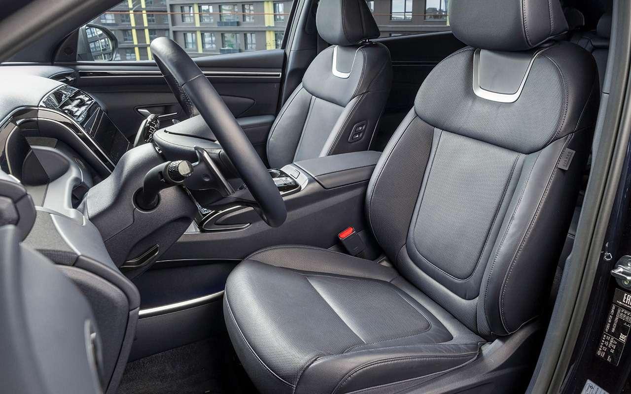 Новый Hyundai Tucson: выбрали оптимальную версию (из25!)— фото 1269644