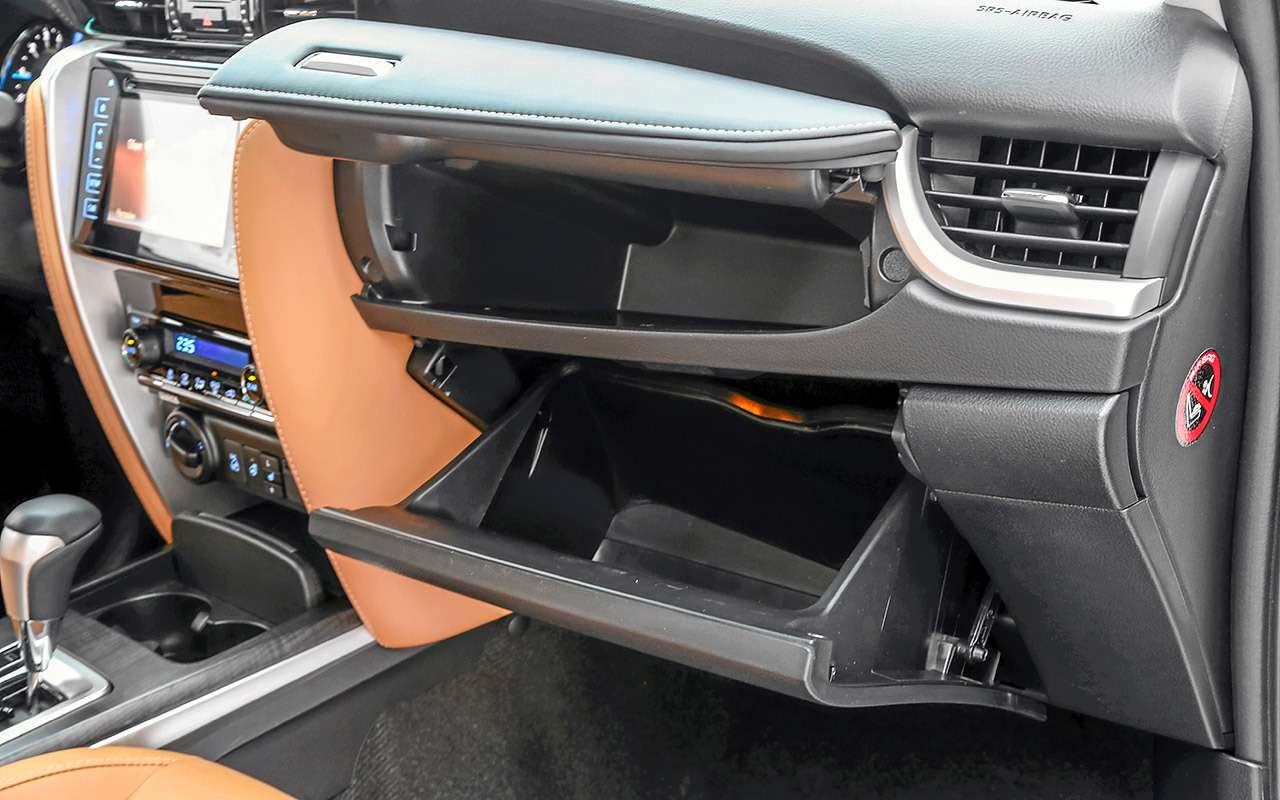 Toyota Fortuner, Mitsubishi Pajero Sport, Kia Mohave  — супертест — фото 855641