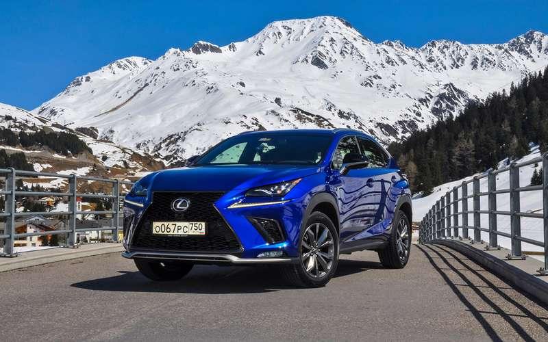 Обновленный Lexus NX: испытание Чертовым мостом