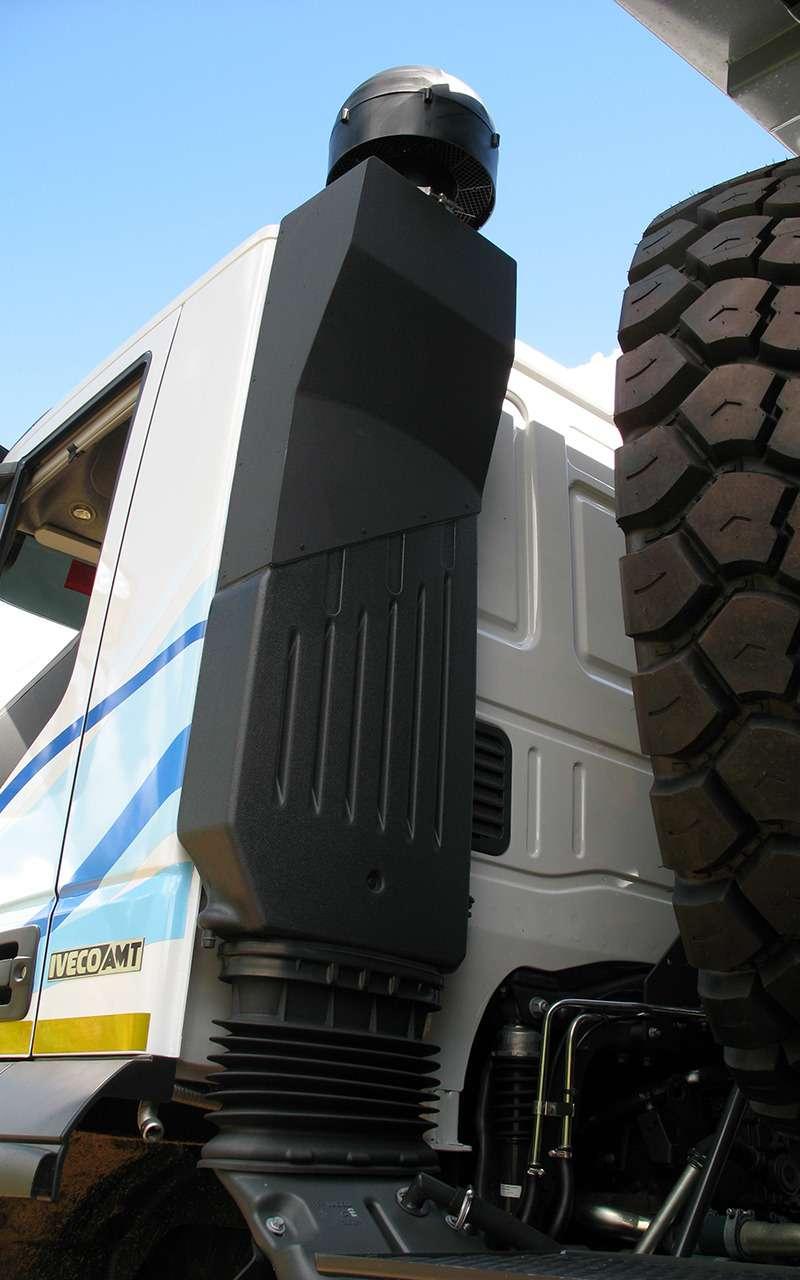 Тяжелые грузовики IVECO Trakker: все особенности— фото 1233416