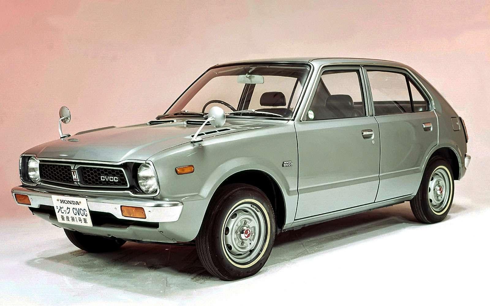 Первый Honda Civic
