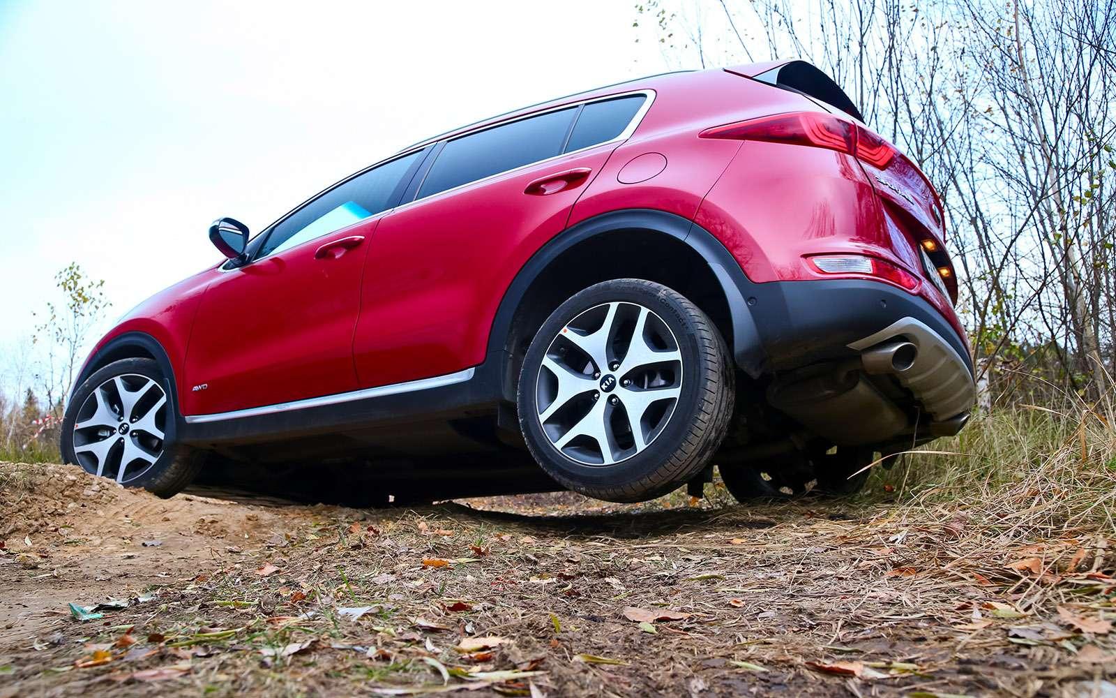 Новый Tiguan, CX-5или Sportage? Битва неравных— фото 670854