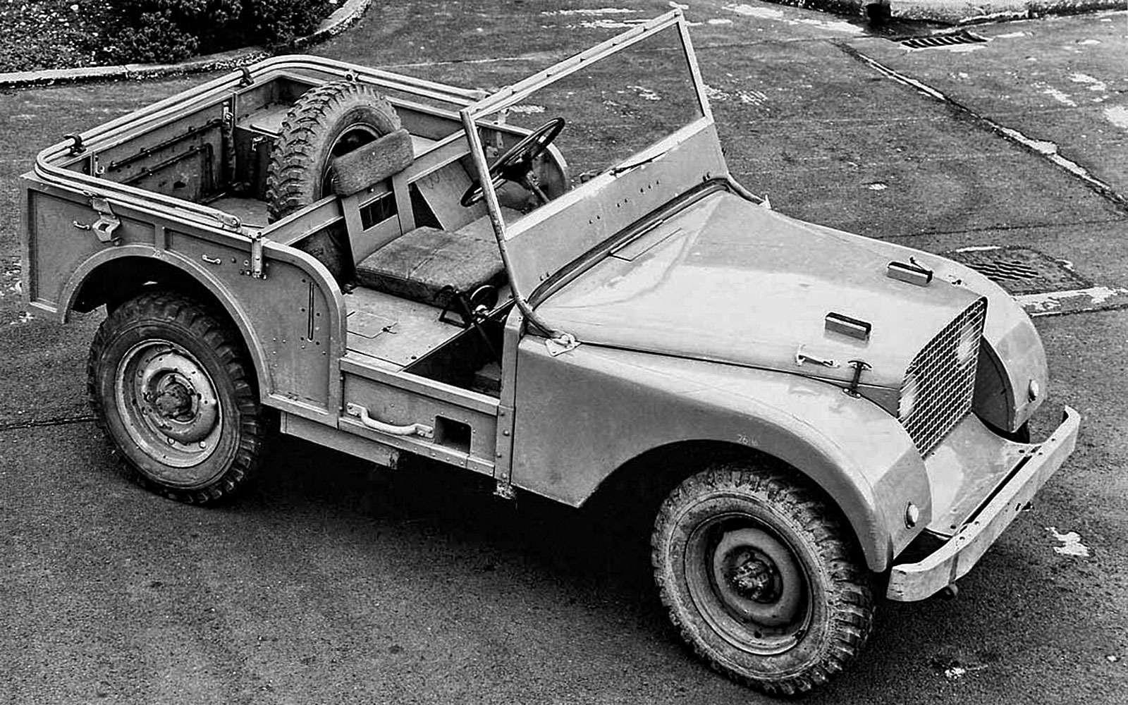 История Land Rover вкартинках: жить полной жизнью— фото 620637