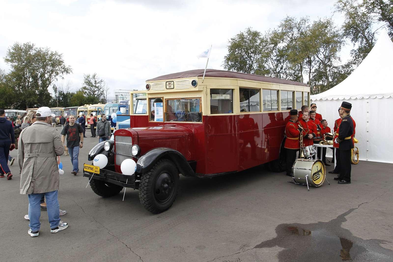 Автобусы нашего детства— выставка пассажирского транспорта— фото 792648
