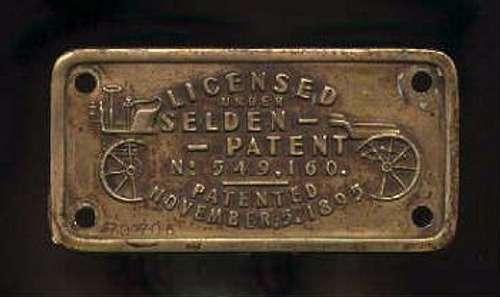 Патент Селдена