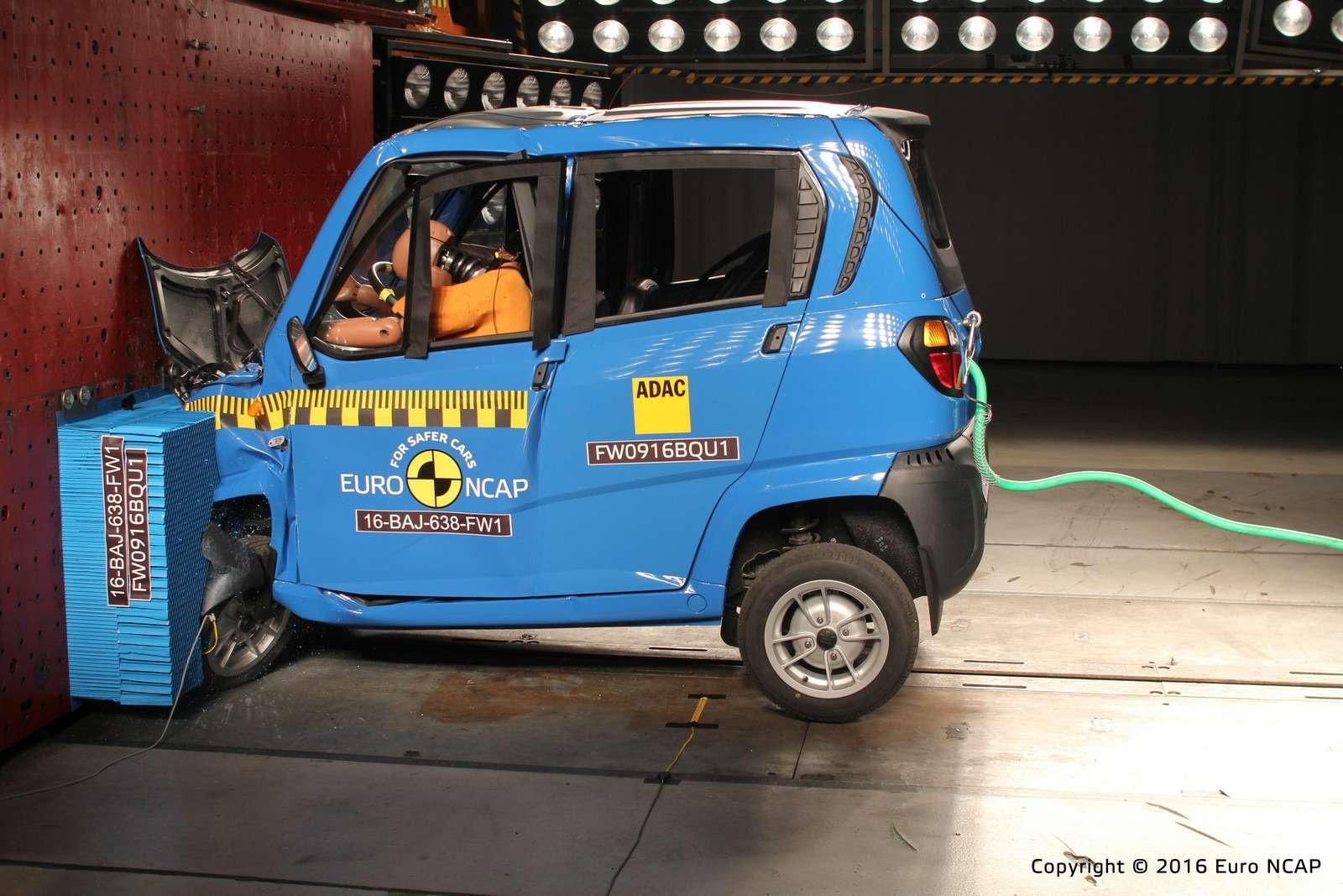 Euro NCAP огласил ужасающие результаты краш-тестов тяжелых квадроциклов— фото 573078