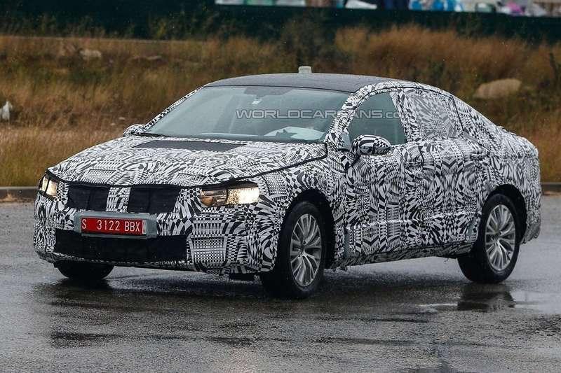 Тестовый прототип нового Volkswagen Passat