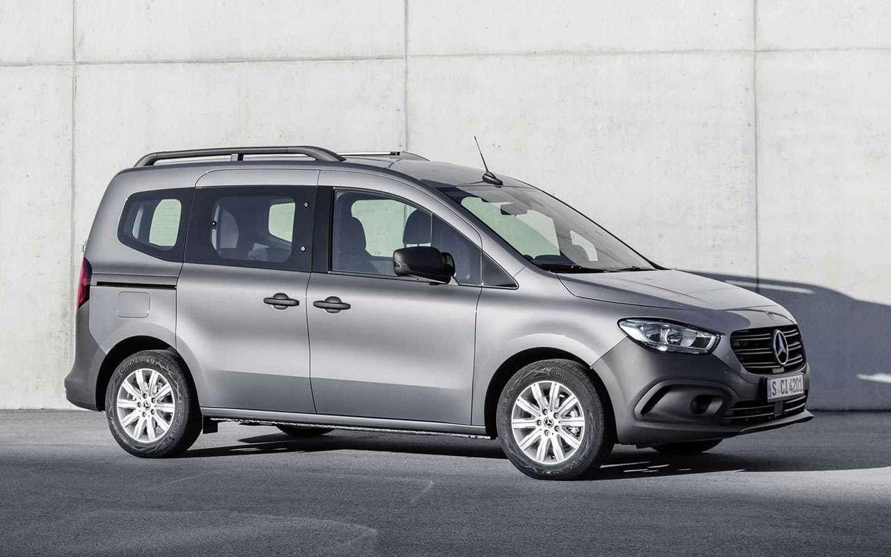 Mercedes набазе Renault— недорогая новинка— фото 1272783