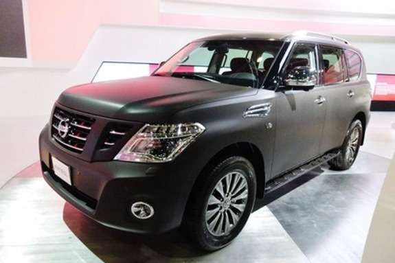 2014 Nissan Patrol Black Edition1 450x337 no copyright