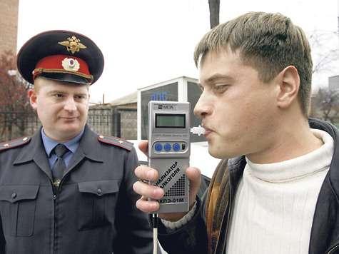 тестирование водителя наалкоголь