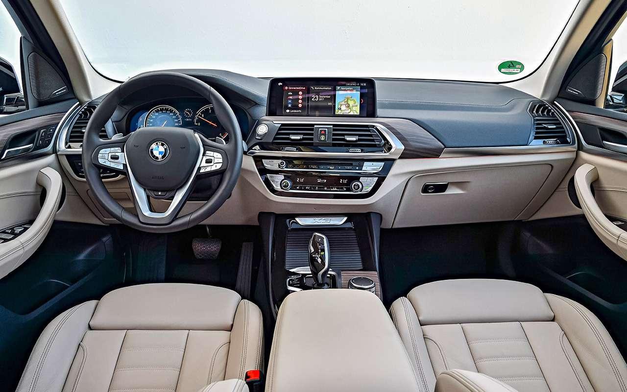Новый BMW X3— тест первого кроссовера наплатформе CLAR— фото 826090