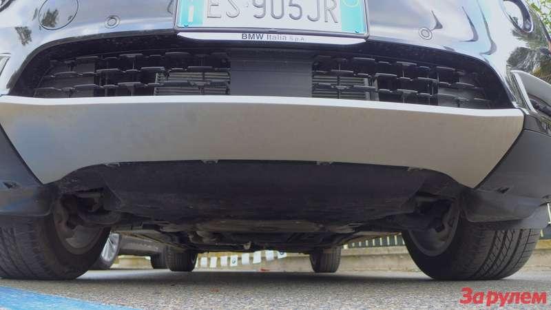 BMWX530в engine guard