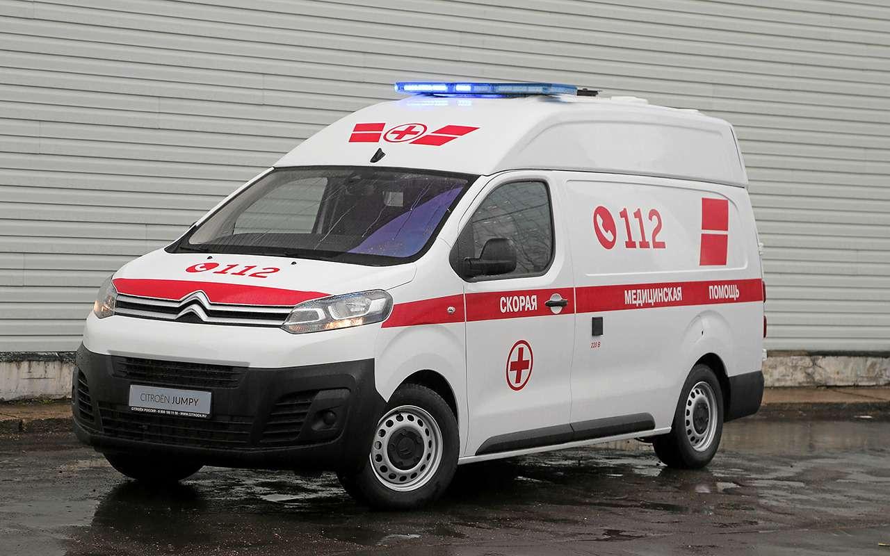 Какустроен современный автомобиль скорой помощи— фото 875248