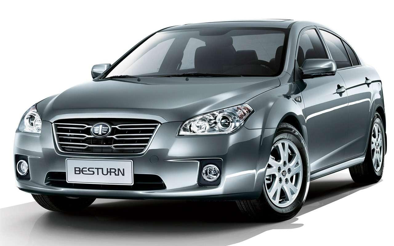 Китайские седаны от100000 руб.— 5годных вариантов— фото 1253950
