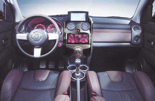 Mazda представила самый маленький спортивный концепт— фото 97334