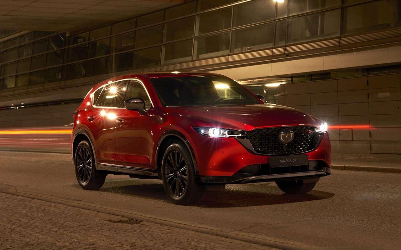 Mazda показала обновленный кроссовер CX-5— фото 1277845