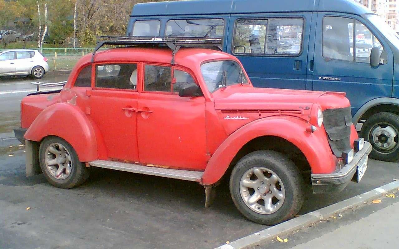 Так переделывали авто только в СССР: 12 примеров - фото 1167633