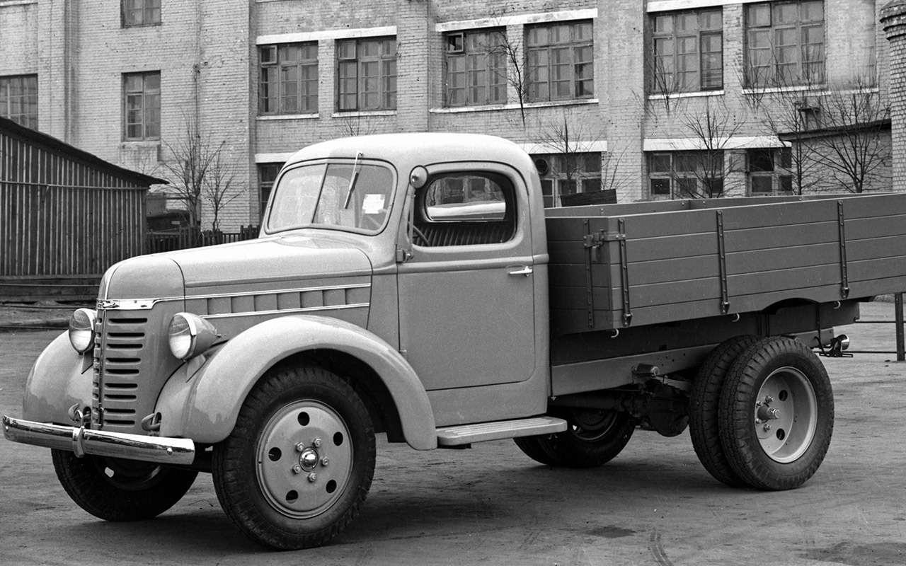 Свой парень: ретротест грузовика  ГАЗ-51— фото 845823
