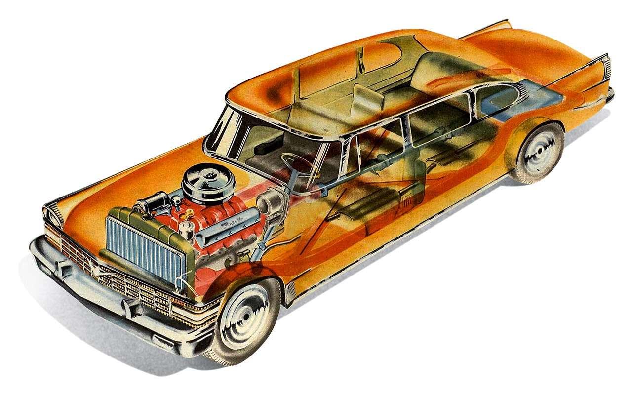 Лимузин партийной элиты— как делали главный автомобиль страны ЗИЛ-111— фото 985802