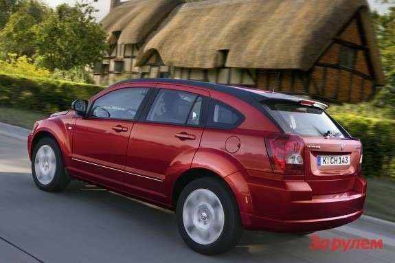 Dodge Caliber side-rear view