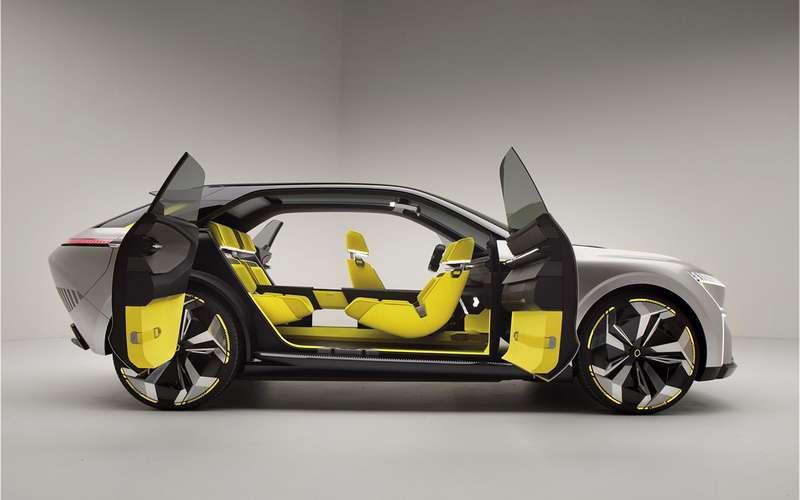 Трансформер Morphoz— концепт Renault длягорода итрассы