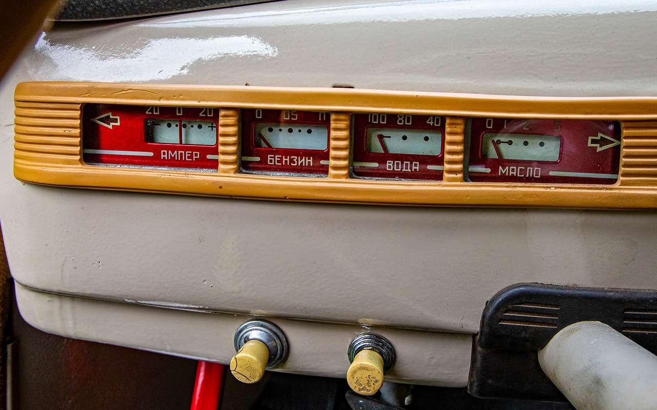 Уникальная Победа ГАЗ-М20: ретротест машины cкорой помощи— фото 1085326