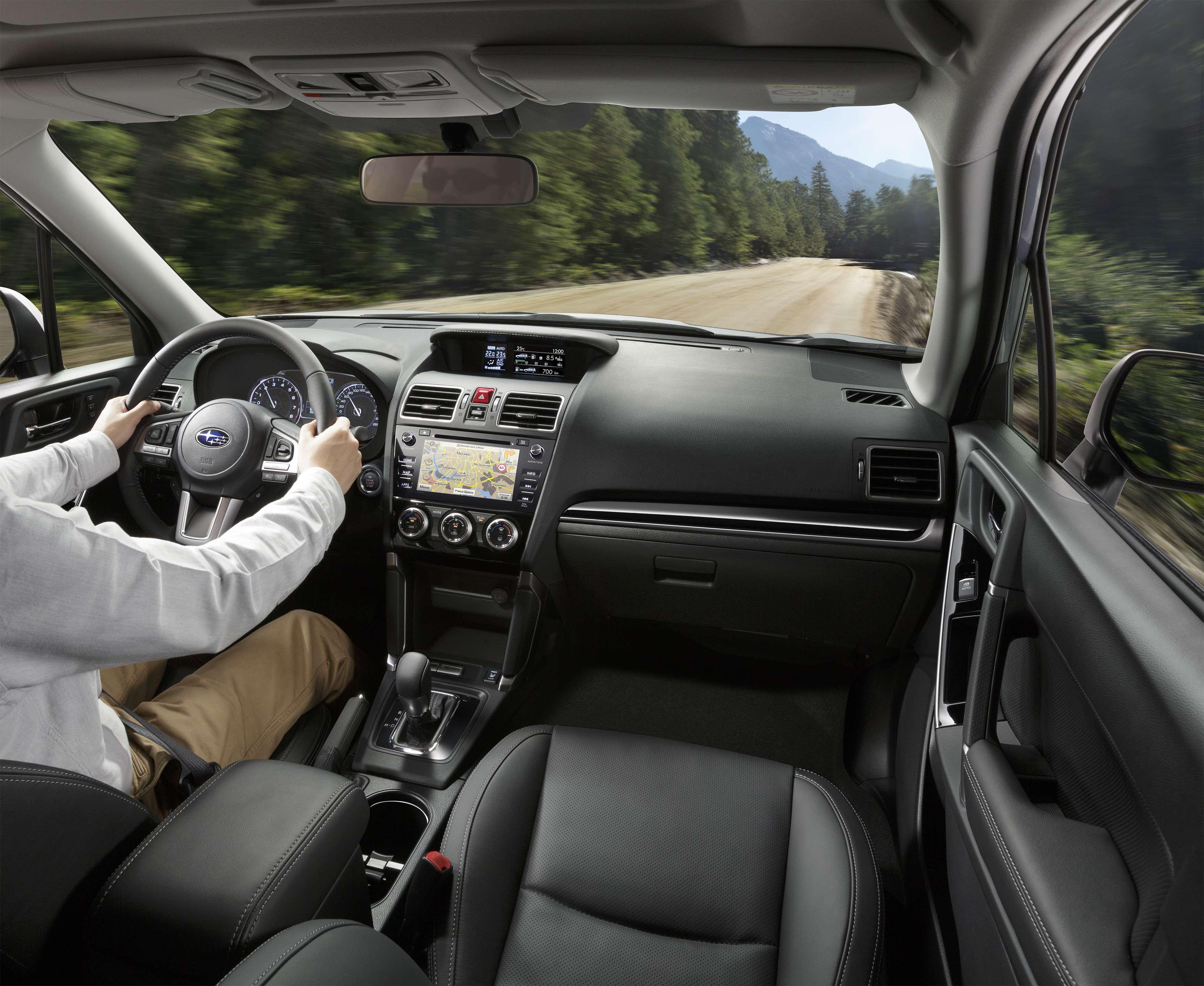 Обновленный Subaru Forester научили беречь корму— фото 791099