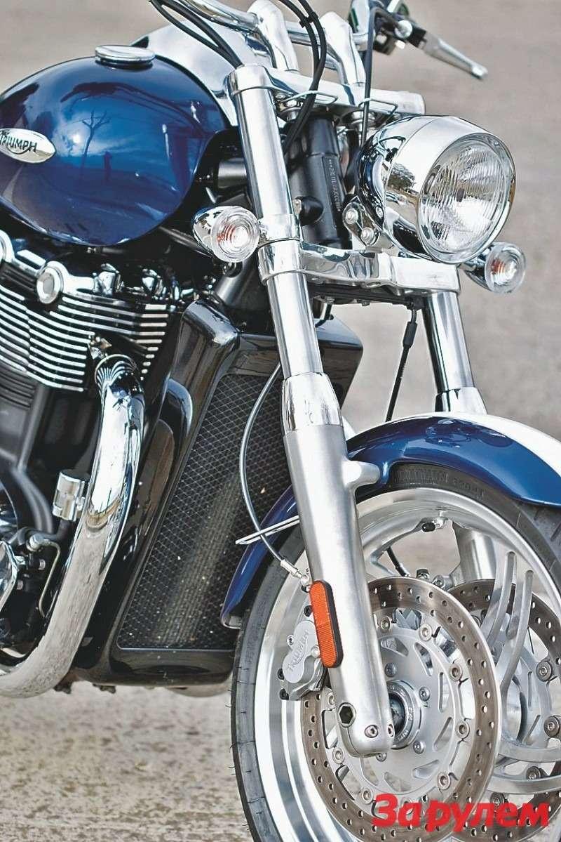 Вилка Triumph Thunderbird