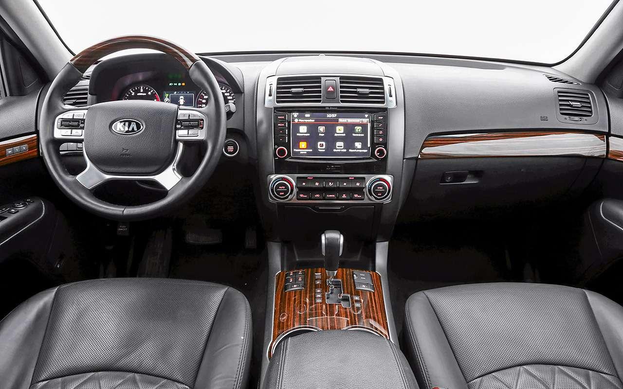 Toyota Fortuner, Mitsubishi Pajero Sport, Kia Mohave  — супертест — фото 855659