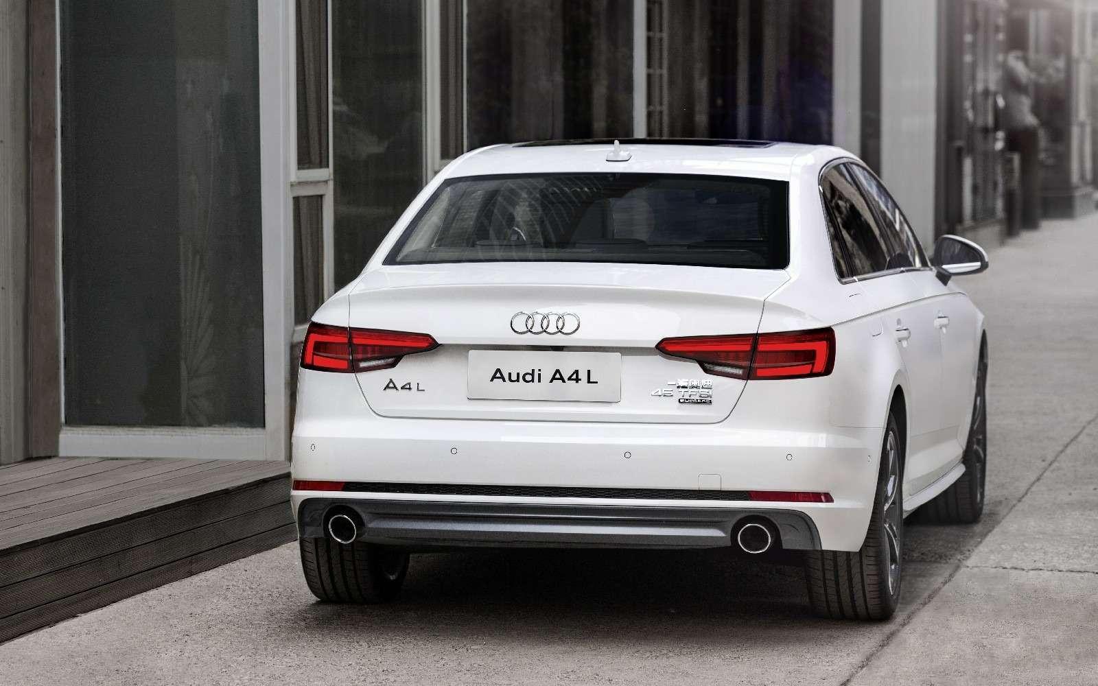 Audi A4L: немецкая щедрость вобмен наюани— фото 580287