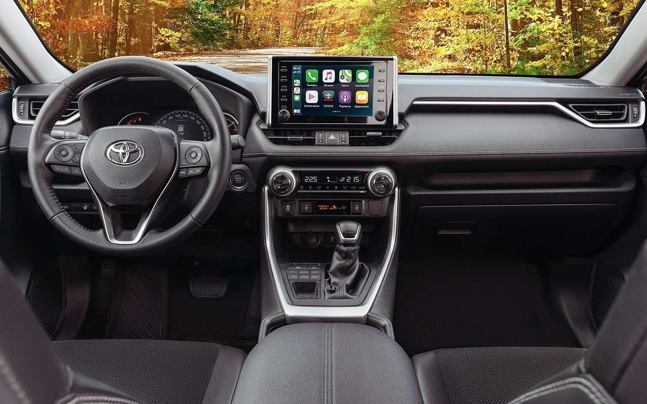 Новая версия Toyota RAV4: теперь двухцветная— фото 1172744
