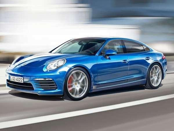 Porsche готовит запуск Mini-Panamera