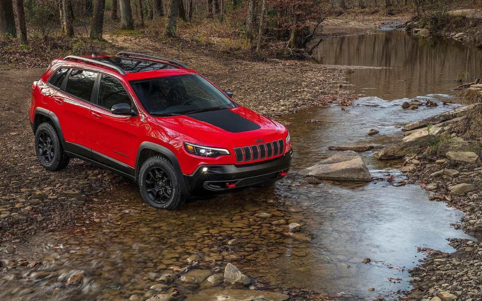 Всеобобновленном Jeep Cherokee. Когда онпоявится вРоссии?— фото 836711