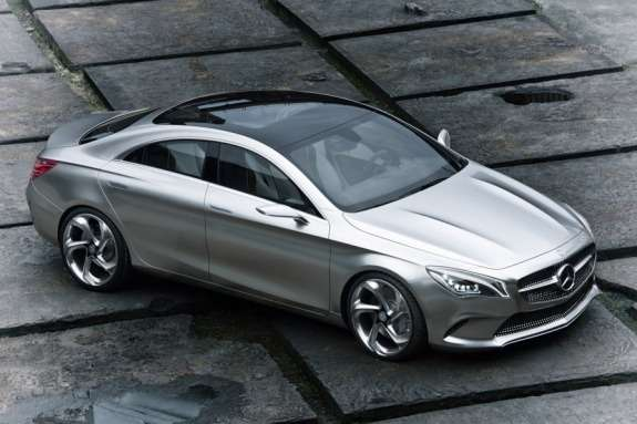 Mercedes-Benz Concept Style Coupe side-front view