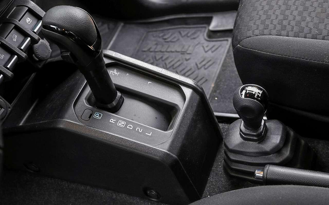 Удовольствия за1,5млн: Kia Soul против Suzuki Jimny— фото 1085640