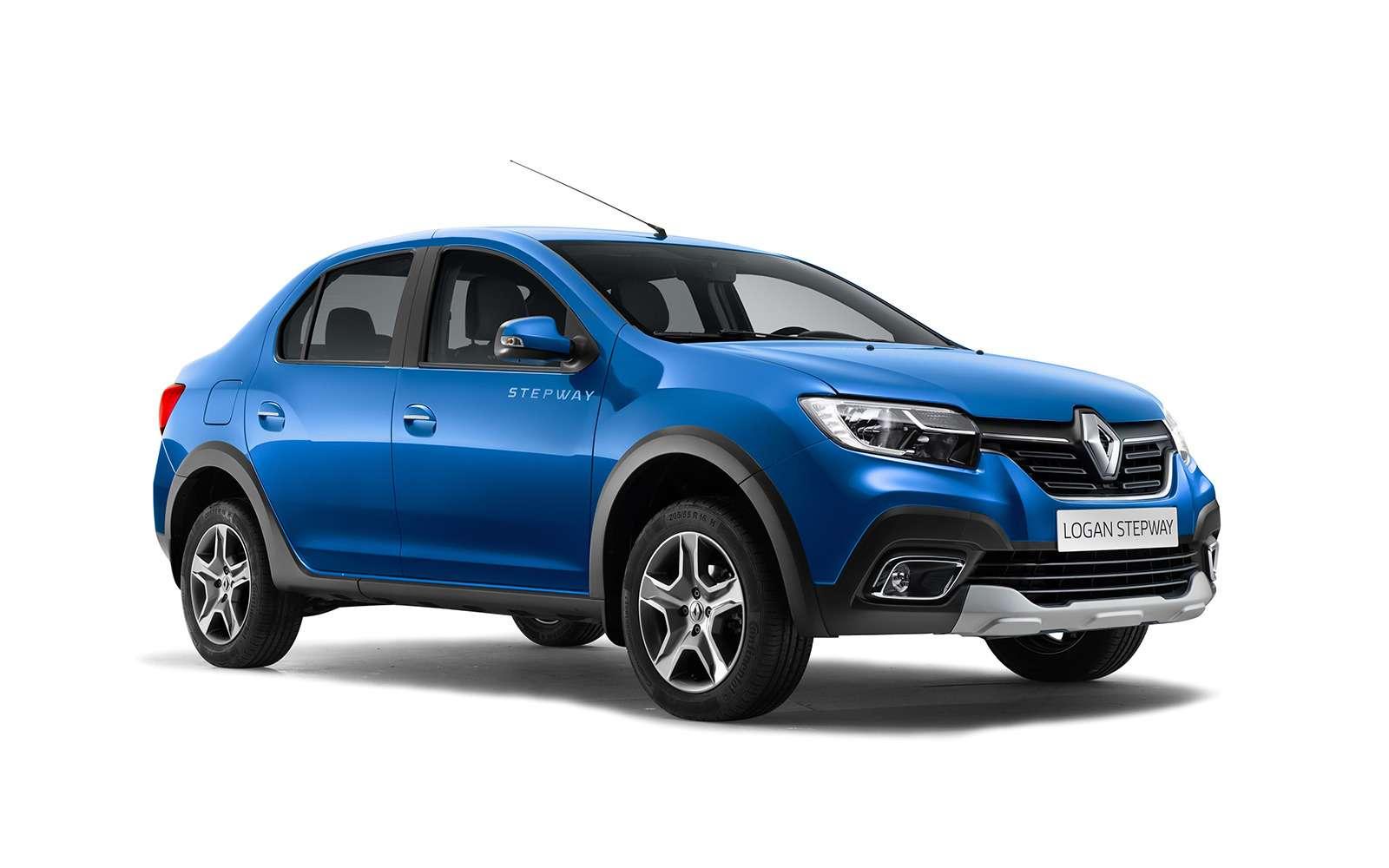 Renault объявила цены наLogan Stepway иSandero Stepway— фото 913030