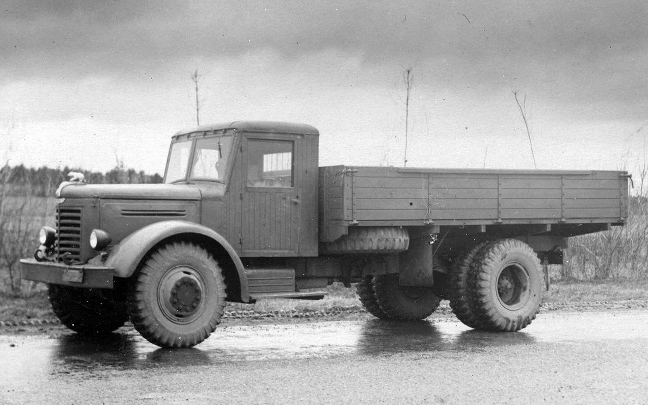 Первый советский дизельный грузовик ЯАЗ-200— родом изАмерики— фото 1255797