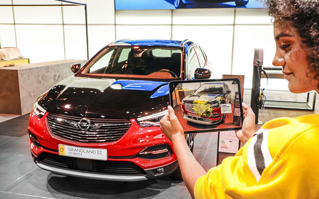 Opel Grandland X: скоро вРоссии— фото 995351