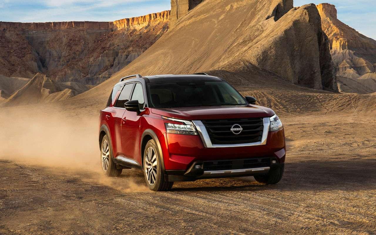 Новый Nissan Pathfinder— скоро вРоссии— фото 1221282