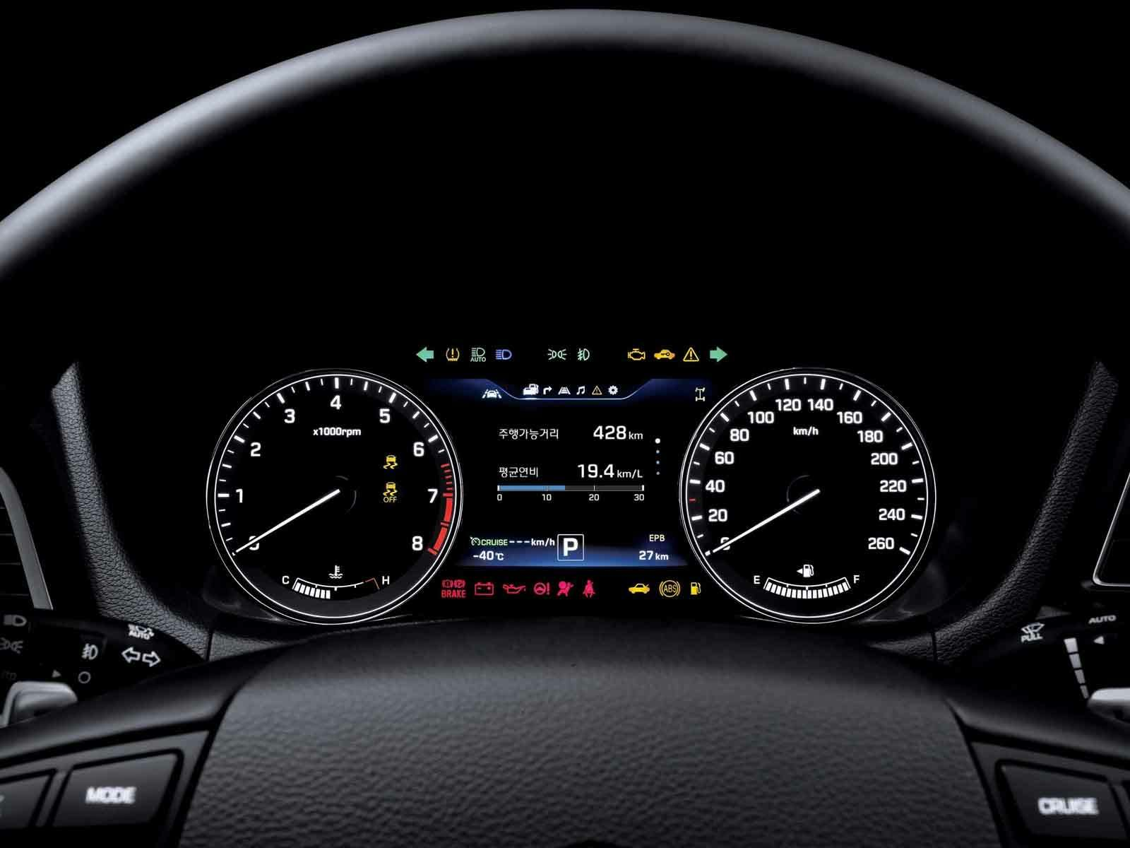 DH_TFT LCD Instrument Panel