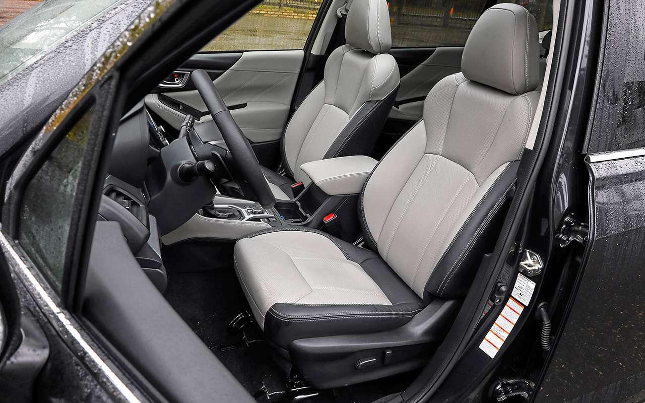 Новый Subaru Forester против конкурентов: большой тест кроссоверов— фото 935670