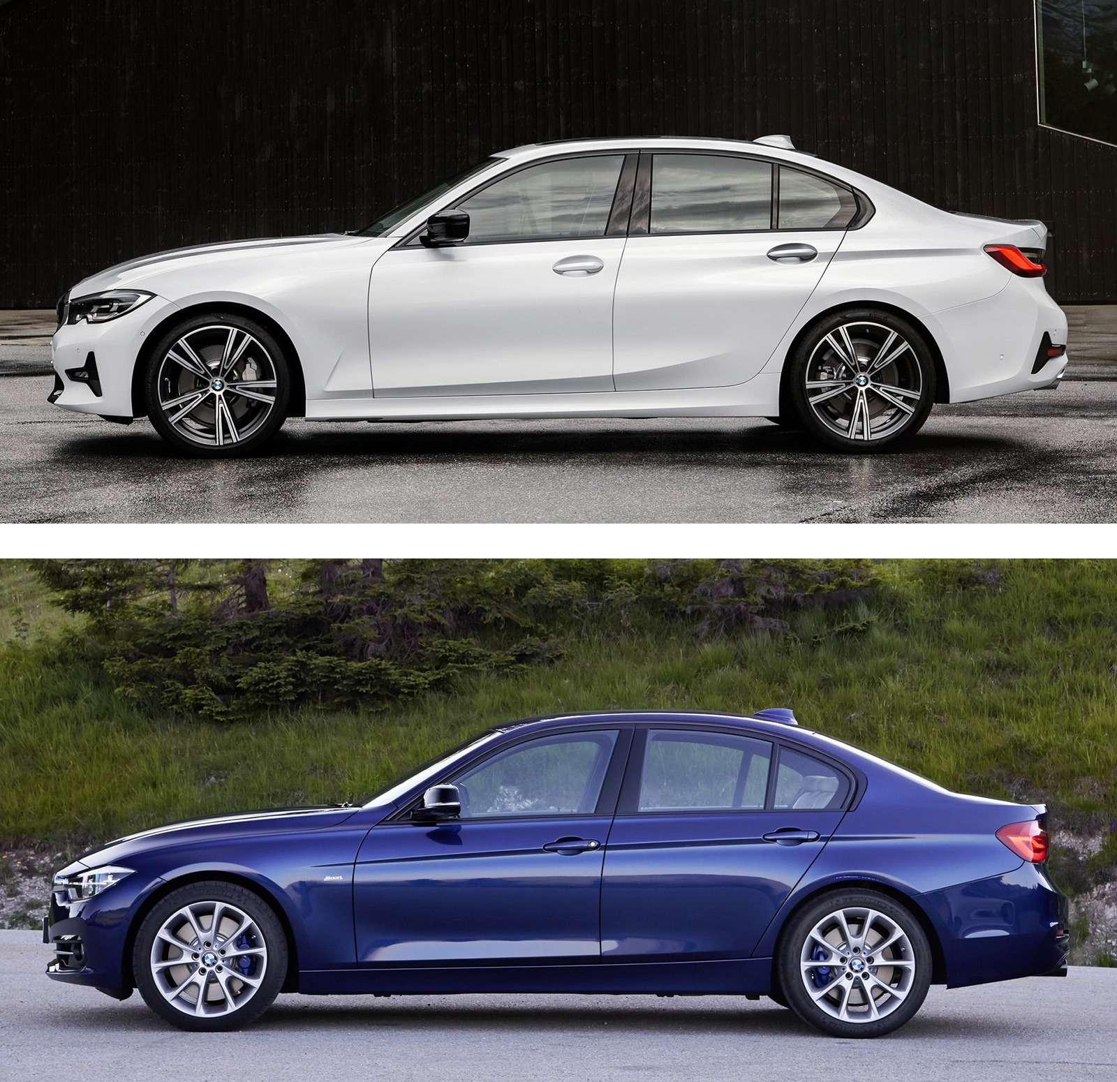 Новая BMW 3-й серии против старой: какая красивее?— фото 912570