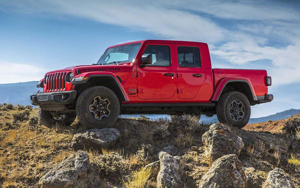 Jeep Gladiator: американцы вернулись всегмент пикапов— фото 927235