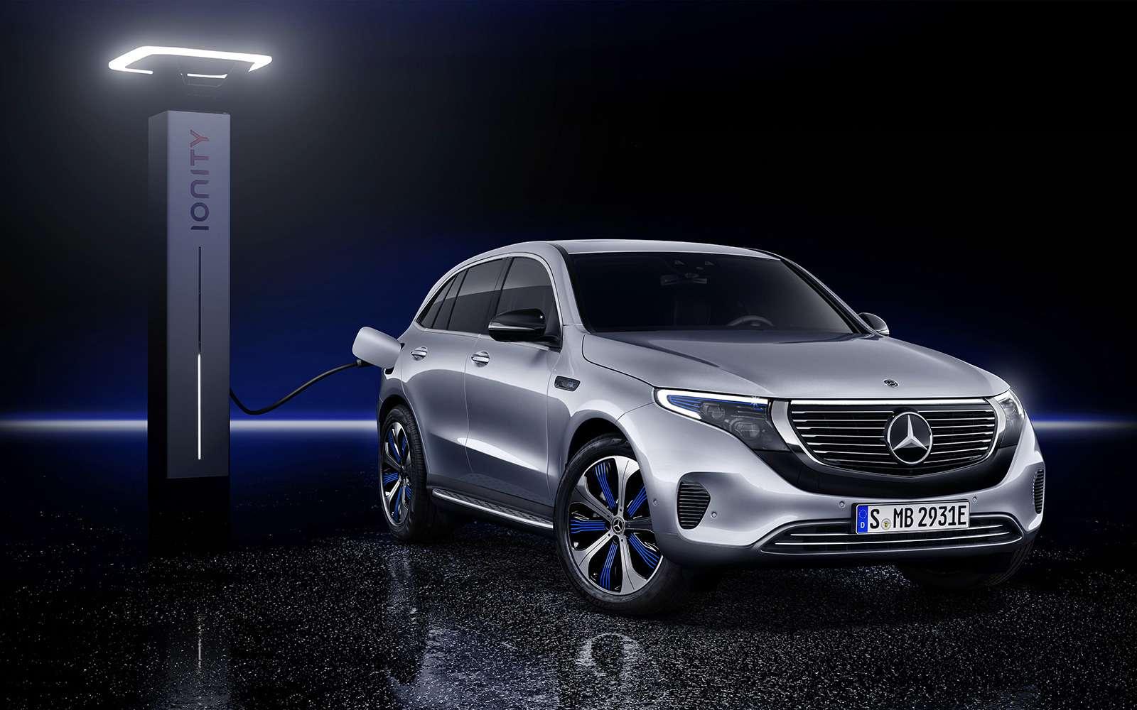 Электрический Mercedes-Benz EQC: два мотора и450 километров назарядке— фото 902233